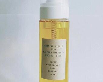 Liquid soap (Foaming lemon myrtle)