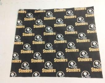 Pittsburgh Steelers fabric black 249636