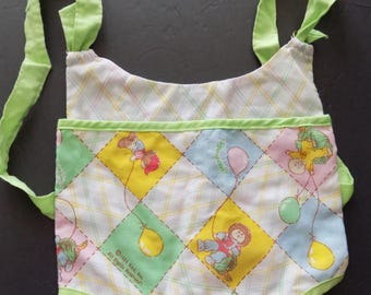 Vtg 1983 Cabbage Patch Doll Back Pack Sling Carrier  CPK Accessory