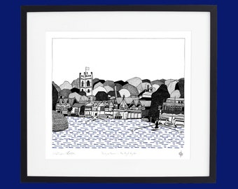 Henley on Thames - The Royal Regatta Limited Edition Screen Print