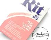 Rit Powder Dye for Fabric, Sinamay, Silk & More! 31.9g - Petal Pink