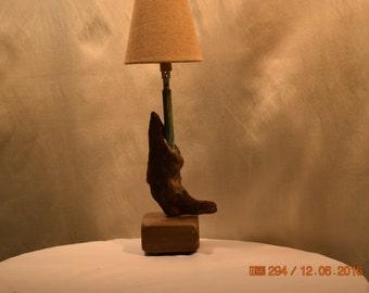 Bluestone Cedar, Copper table lamp