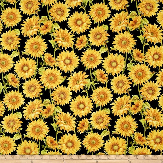Simple Sunflower Tapestry