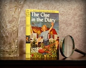 Hollow Book Safe (Vintage 1962 Nancy Drew: The Clue in the Diary)