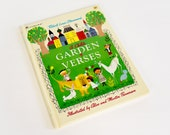Vintage 1970s Childrens Book / A Child's Garden of Verses by R. Stevenson 1979 / Golden Book / MCM Illustrations Alice and Martin Provensen