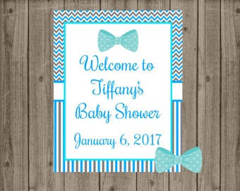 Bow Tie Baby Shower Welcome Sign, Little Man Baby Shower Welcome Sign, Welcome Door Sign, Bow Tie Baby Shower, Little Man Baby Shower
