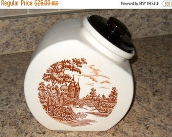 Shop Closing Sale Vintage Cookie Jar Canister Flour Sugar Tea