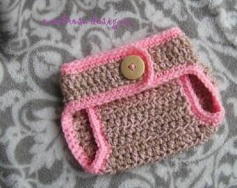CROCHET PATTERN - Diaper Cover/Baby Pants - Easy Skill Level  Designer Pattern
