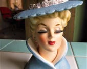 Vintage Head Vase, Lana Turner Napcoware C 3815