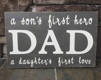 DAD sign, ready to ship
