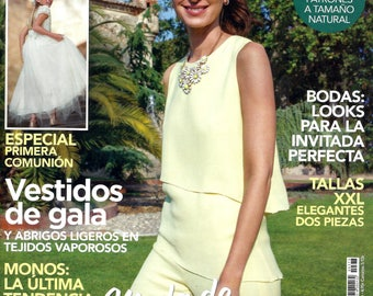 PATRONES magazine 373 Moda de Fiesta (Party dresses).-