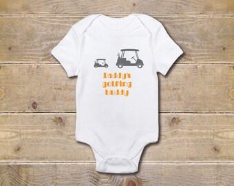 Golf Onesie, Boy's Onesie, Golf Onesie, Baby Shower Gift, Baby Boy, Father's Day Onesie, New Dad, Golf Lovers, Golf Baby Onesie