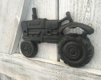Cast Iron Tractor Bottle Opener - You pick color