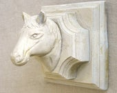 Horses, Horse Head, Horse Plaque, Stone Horse, Carved Stone, Equestrian, Architectural, Artifact, Cornerstone, Concrete, Horse Mount, Plaque