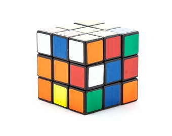 70's Vintage Rubik's Cube