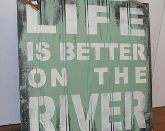 River house decor Etsy