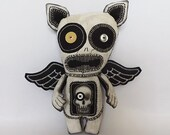 Gothic Horror Doll Voodoo Doll Macabre Doll Angel