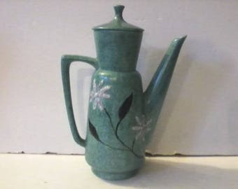 Vintage Mid Century Bitossi Aldo Londi Era Ceramic Coffee Pot
