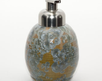 NEW Multi-Color Crystalline Glaze - Foaming Soap Dispenser