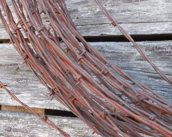 On Sale Rustic Barbwire