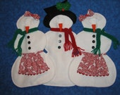 CUSTOM ORDER for AMY only - Elf Costumes - Snowman - Snowlady