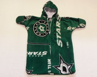 NHL DALLAS STARS Printed  fleece  Baby Bunting Coat Newborn  0 to 6 months