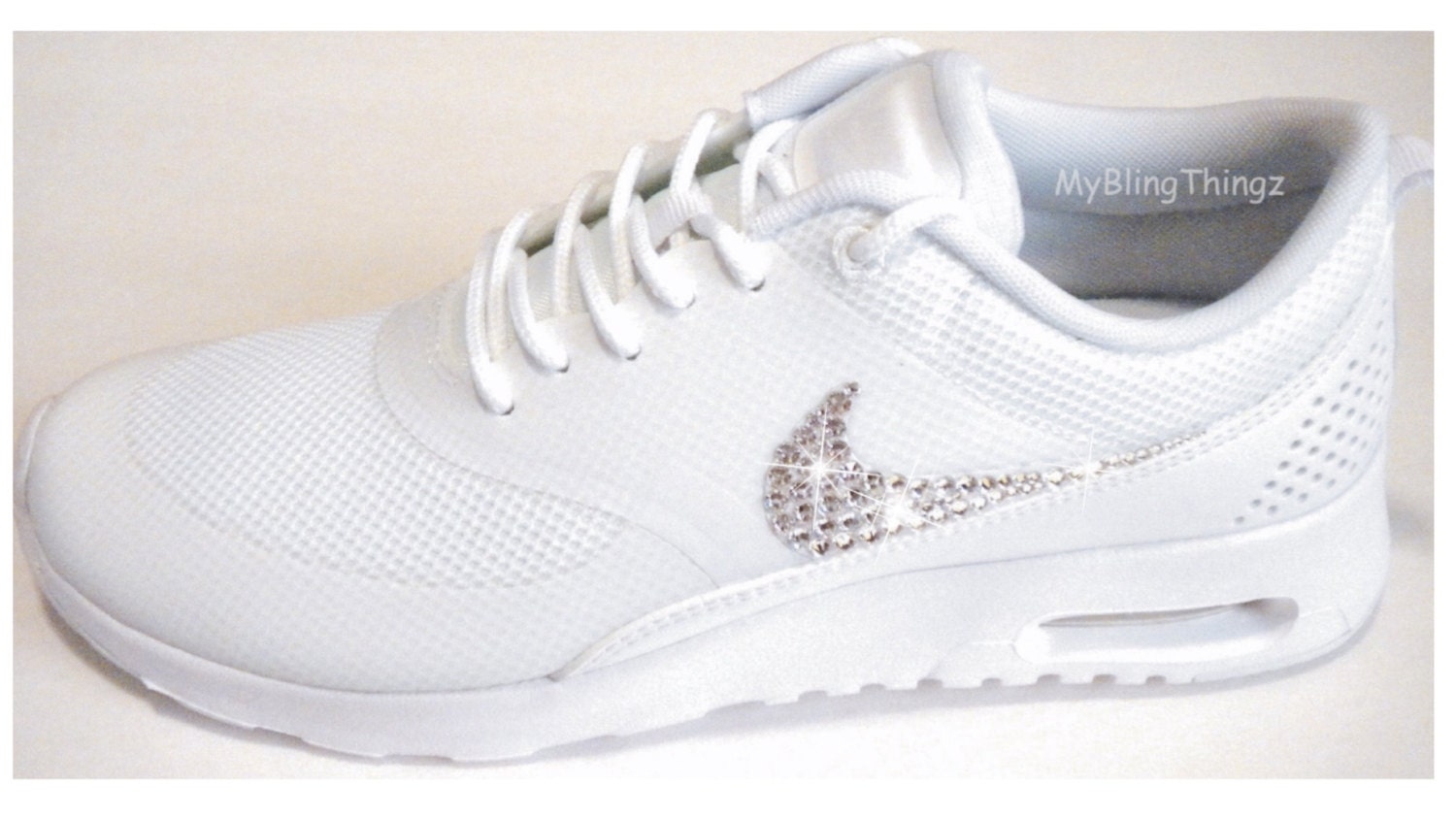 Bling Nike Shoes With Swarovski Crystals Nike Air Max Thea
