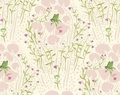 SALE *** Far Far Away Frog Prince in Pink 1 yard - by Heather Ross for Windham Fabrics