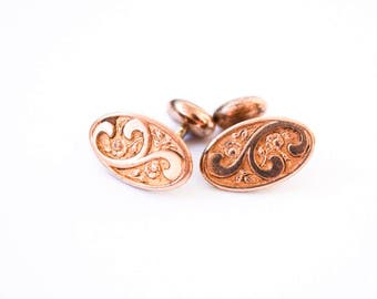 Antique Cuff Links Gold Filled c.1920