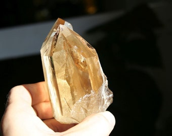 Smokey Citrine Quartz Crystal Cluster Very High grade Specimen