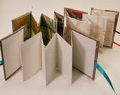 DIY BOOKMAKING KIT : Accordion Fold, Instructions, Tutorial, Ready to Ship