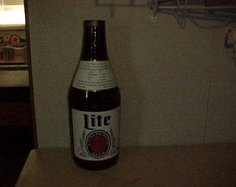 Miller Lite Inflatable Beer Bottle Advertising Display