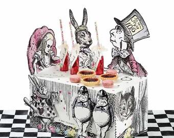 Alice in Wonderland Vintage Centerpiece