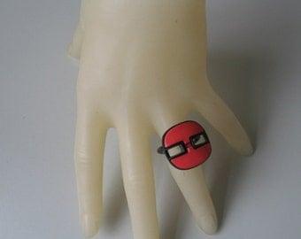 Vintage buttonring