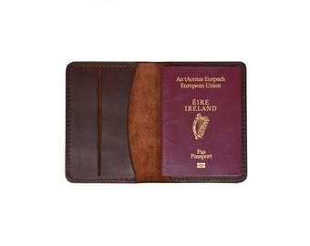 Passport Booklet // Travel Accessories // Leather passport cover