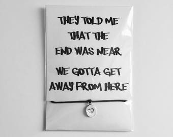 Sign Of The Times - Harry Styles Song Lyric Friendship Bracelet