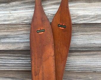 Wooden Vintage Child Snow Skis - Ski Decor - Munro Skis - Vintage Ski - Collectible - Wooden Skis - Old Ski - Antique Skis