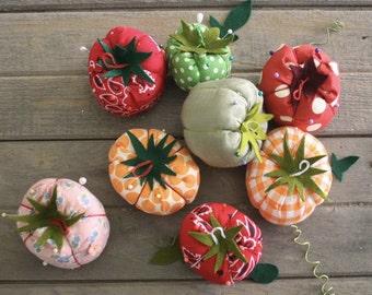 Tomato Pin Cushion Ornament