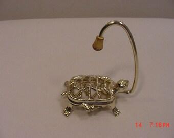 Vintage Hanging Turtle Sachet Holder  17 - 334