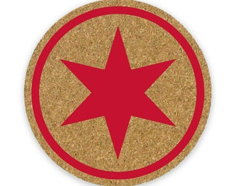 Red Star Coaster