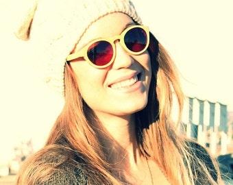 Black Friday ON SALE Handmade Round Bamboo Eyeglasses prescription RX  Sunglasses Mjx1104 Takemoto