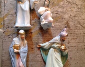 Vintage Avon Brien Bethlehem Collection 4 Pieces