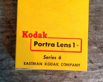 Vintage New in Package Kodak Portra Lens Series 6 1+