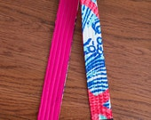CAMERA STRAP in Lilly Pulitzer She Sells Seashells Duo