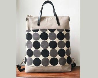 2way tote bag backpack bag with canvas strap/travel bag /diaper bag /Laptop bags/shoulder bag /Handbag/Japan style /luggage bag