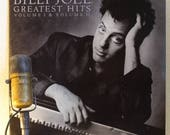 "Vinyl Record Album Billy Joel ""Greatest Hits: Volume 1 and Volume 2"" (Original 1985 CBS Records 2LP Gatefold, ""Piano Man"")"