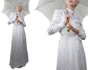 Edwardian Seaside Summer Day Dress
