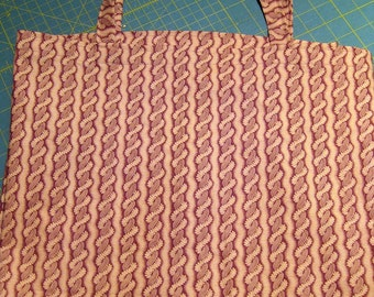 Reusable Grocery Shopping Bags washable cotton Brown texture Print
