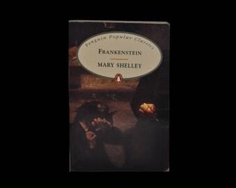 Frankenstein. Vintage Paperback. Penguin Popular Classics. Horror. 1994.