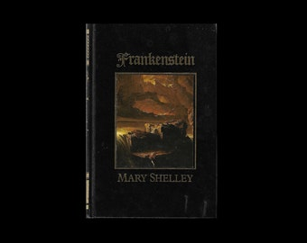 1980s Hardback: Frankenstein, by Mary Shelley. The Modern Prometheus.